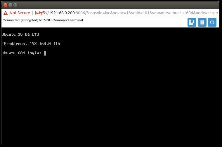Proxmox 4 - Get IP of LXC container - WizzBizz