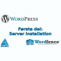 WordPress installation part 1