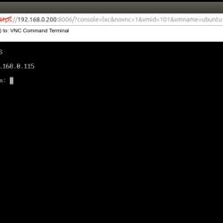 Proxmox Ubuntu Linux IP address