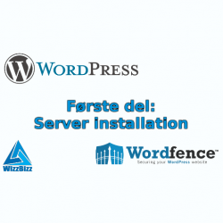 WordPress installation part 1